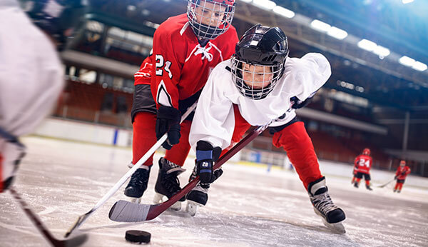 youth hockey players